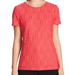 Calvin Klein Women's Stretch Textured Shirt
